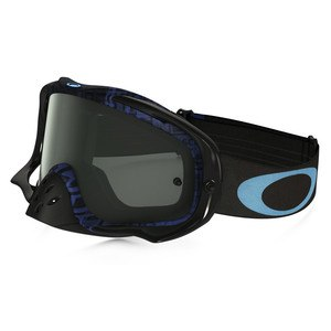 CROWBAR MX  - DISTRESS TAGLINE STEALTH BLUE LENS DARK GREY