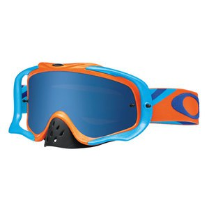 CROWBAR MX  - HERITAGE RACER ORANGE LENS ICE IRIDIUM