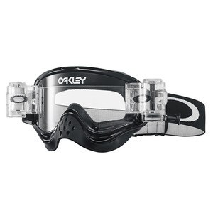 O FRAME MX RACE READY  - JET BLACK LENS CLEAR