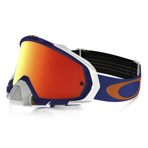 MAYHEM PRO MX  - SHOCKWAVE BLUE ORANGE LENS IRIDIUM
