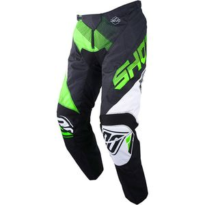 Pantalon cross Shot DEVO ULTIMATE - BLACK NEON GREEN
