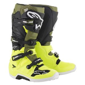 TECH 7 YELLOW FLUO MILITARY GREEN BLACK