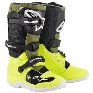 TECH 7S YELLOW FLUO MILITARY GREEN BLACK