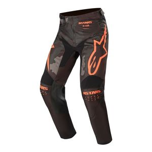 RACER TACTICAL - BLACK GRAY CAMO ORANGE FLUO