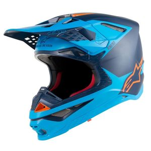 SUPERTECH S-M10 META BLACK AQUA ORANGE FLUO