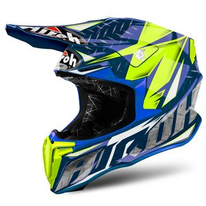 Casco da cross TWIST 2.0  IRON BLUE GLOSS