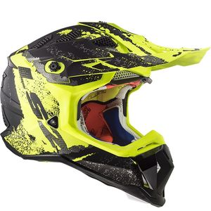 MX470 - SUBVERTER - CLAW MATT BLACK H-V YELLOW