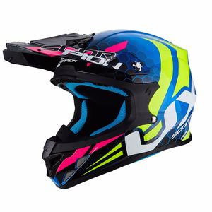 VX-21 AIR - XAGON BLUE-NEON YELLOW