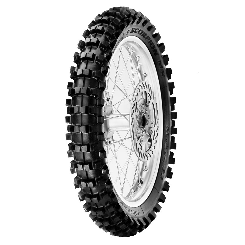 Pneumatico Pirelli SCORPION MX MIDDLE SOFT 32 120/80 M 19 (63M) NHS TT