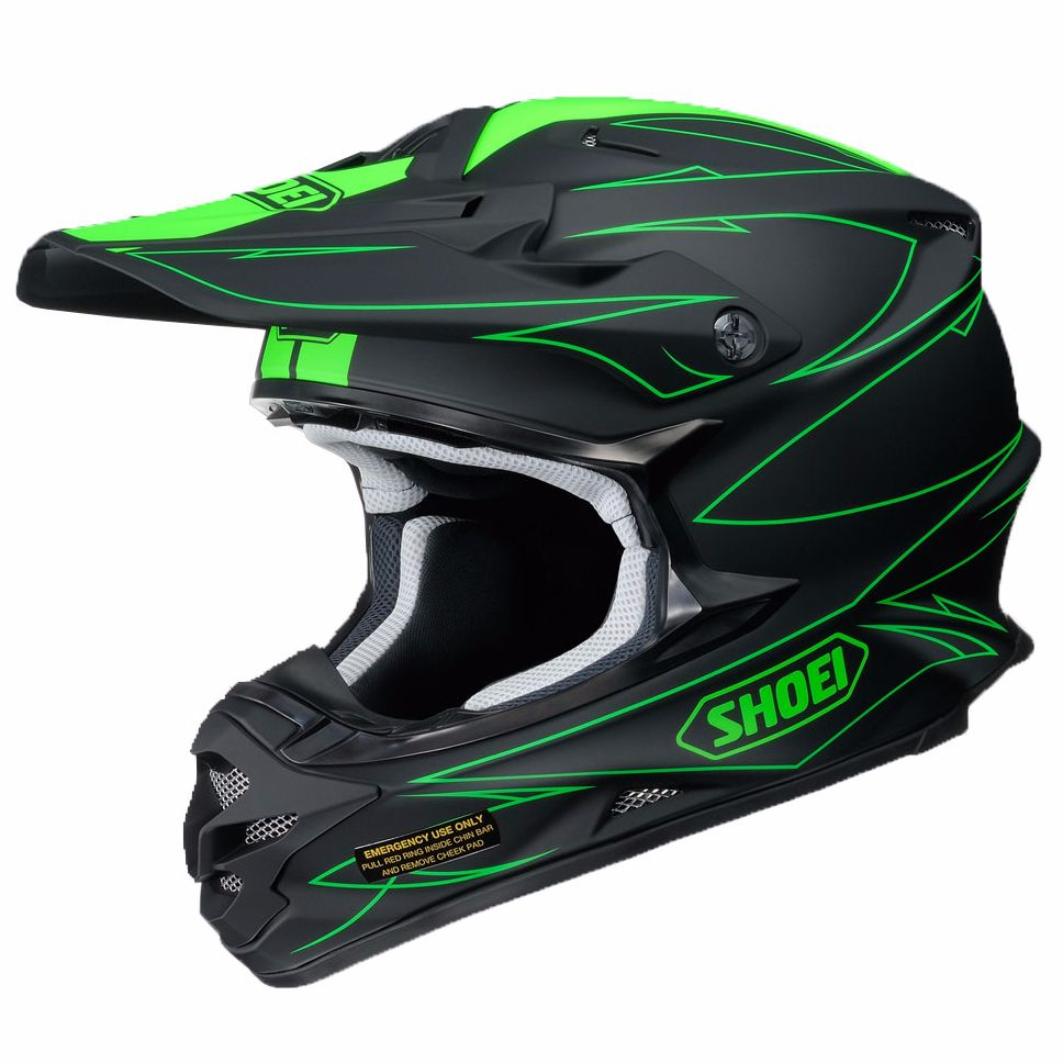 Casco da cross Shoei VFX-W - HELTIC TC-4 2017