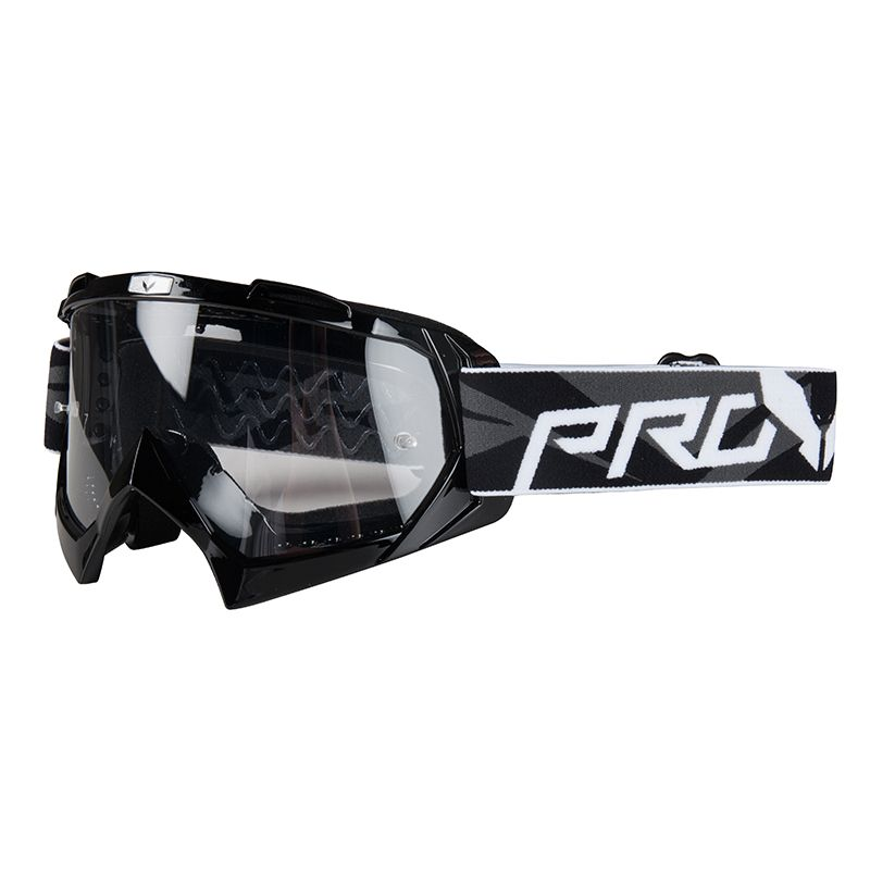 Maschera da cross Prov VISION BASE BLACK