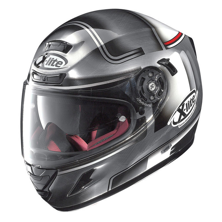 Casco X-lite X-702 GT OFENPASS N-COM CHROME